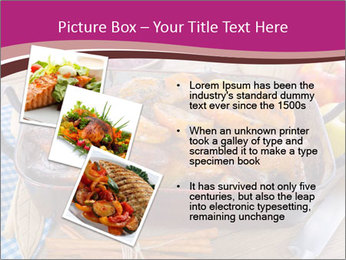 Roasted duck PowerPoint Templates - Slide 17