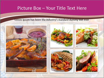 Roasted duck PowerPoint Templates - Slide 19