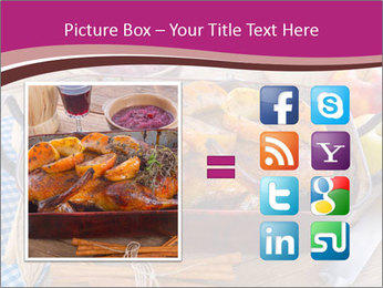 Roasted duck PowerPoint Templates - Slide 21