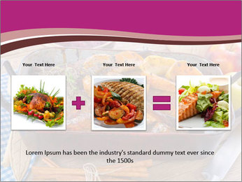 Roasted duck PowerPoint Templates - Slide 22