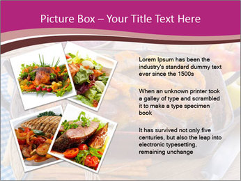 Roasted duck PowerPoint Templates - Slide 23