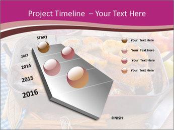 Roasted duck PowerPoint Template - Slide 26