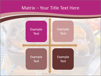 Roasted duck PowerPoint Templates - Slide 37
