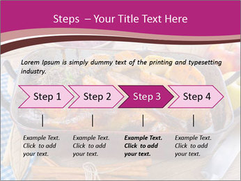 Roasted duck PowerPoint Template - Slide 4