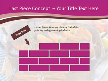 Roasted duck PowerPoint Templates - Slide 46