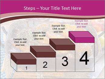 Roasted duck PowerPoint Template - Slide 64
