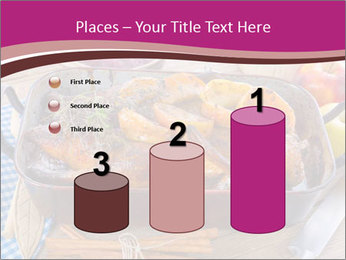 Roasted duck PowerPoint Templates - Slide 65