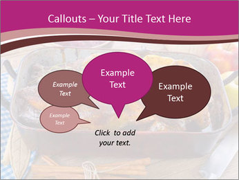 Roasted duck PowerPoint Templates - Slide 73