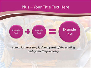 Roasted duck PowerPoint Templates - Slide 75