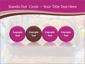 Roasted duck PowerPoint Templates - Slide 76