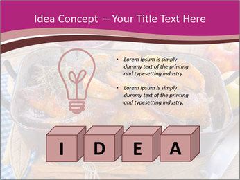 Roasted duck PowerPoint Templates - Slide 80