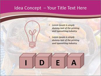 Roasted duck PowerPoint Template - Slide 80