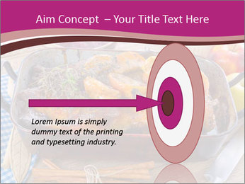 Roasted duck PowerPoint Templates - Slide 83
