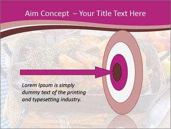 Roasted duck PowerPoint Template - Slide 83