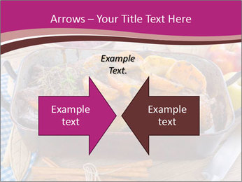 Roasted duck PowerPoint Templates - Slide 90