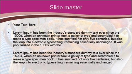 Roasted duck PowerPoint Template - Slide 2