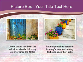 Colorful grunge art wall PowerPoint Templates - Slide 18