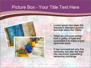 Colorful grunge art wall PowerPoint Templates - Slide 20