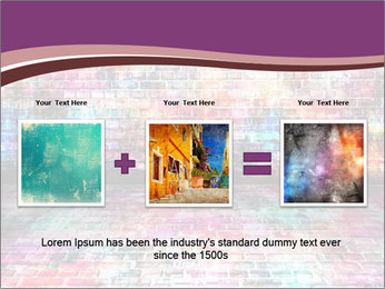 Colorful grunge art wall PowerPoint Templates - Slide 22