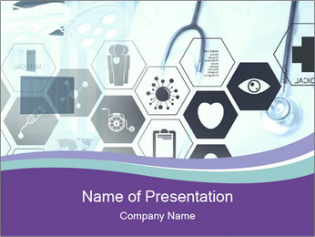 Medicine doctor hand PowerPoint Templates - Slide 1