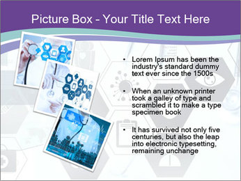 Medicine doctor hand PowerPoint Templates - Slide 17