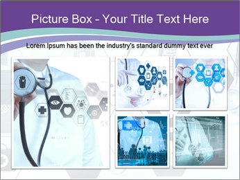 Medicine doctor hand PowerPoint Templates - Slide 19