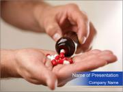Pouring capsules PowerPoint Templates