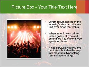 Rock concert PowerPoint Template - Slide 13
