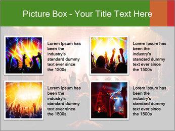 Rock concert PowerPoint Template - Slide 14