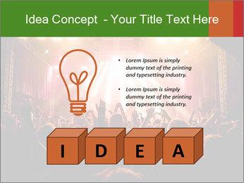 Rock concert PowerPoint Template - Slide 80