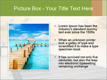 Wood jetty on the Beach PowerPoint Templates - Slide 13