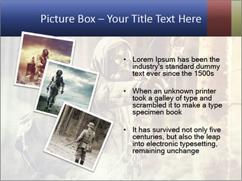 A male bow hunter PowerPoint Templates - Slide 17