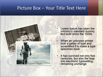 A male bow hunter PowerPoint Templates - Slide 20