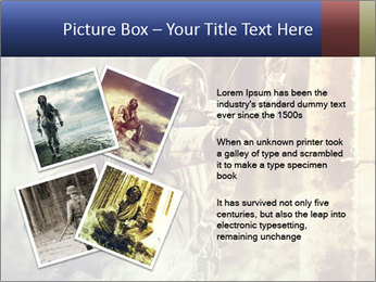 A male bow hunter PowerPoint Templates - Slide 23