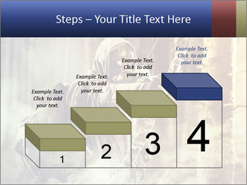 A male bow hunter PowerPoint Templates - Slide 64