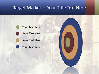 A male bow hunter PowerPoint Templates - Slide 84