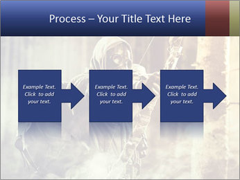 A male bow hunter PowerPoint Templates - Slide 88