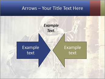 A male bow hunter PowerPoint Templates - Slide 90