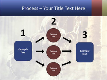 A male bow hunter PowerPoint Templates - Slide 92
