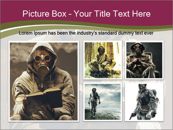 Post apocalyptic survivor PowerPoint Template - Slide 19
