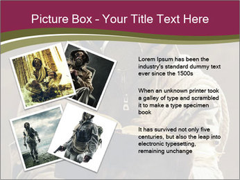 Post apocalyptic survivor PowerPoint Template - Slide 23