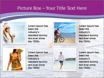 Girl enjoying PowerPoint Template - Slide 14