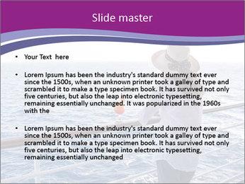 Girl enjoying PowerPoint Template - Slide 2
