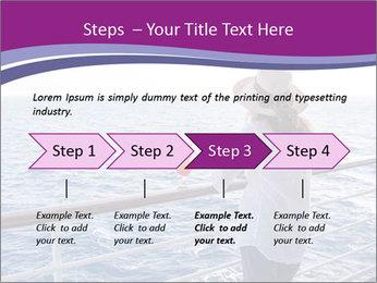 Girl enjoying PowerPoint Template - Slide 4