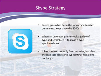 Girl enjoying PowerPoint Template - Slide 8