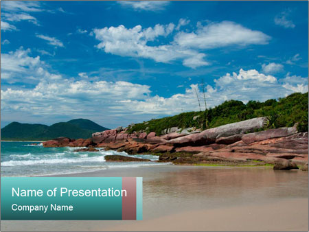Beaches PowerPoint Template