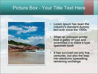 Beaches PowerPoint Template - Slide 13
