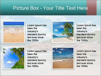 Beaches PowerPoint Template - Slide 14