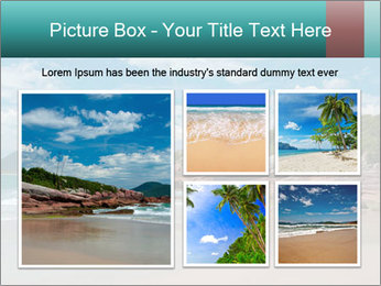 Beaches PowerPoint Template - Slide 19