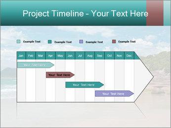 Beaches PowerPoint Template - Slide 25